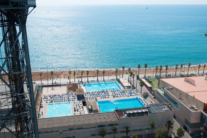 Barcelona swimming club