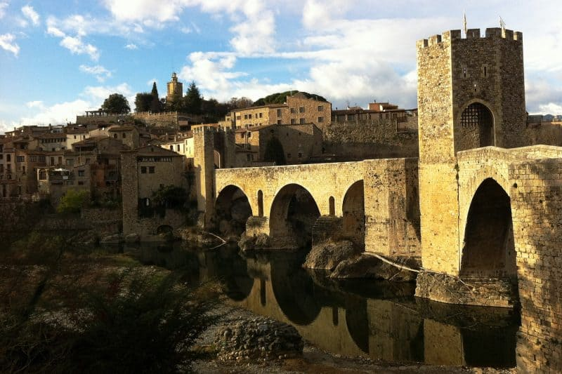 bridge in Besalu