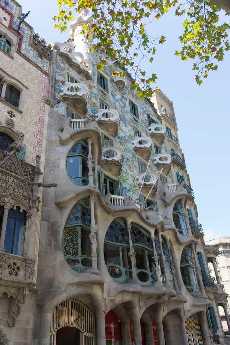 Casa Batllo front facade