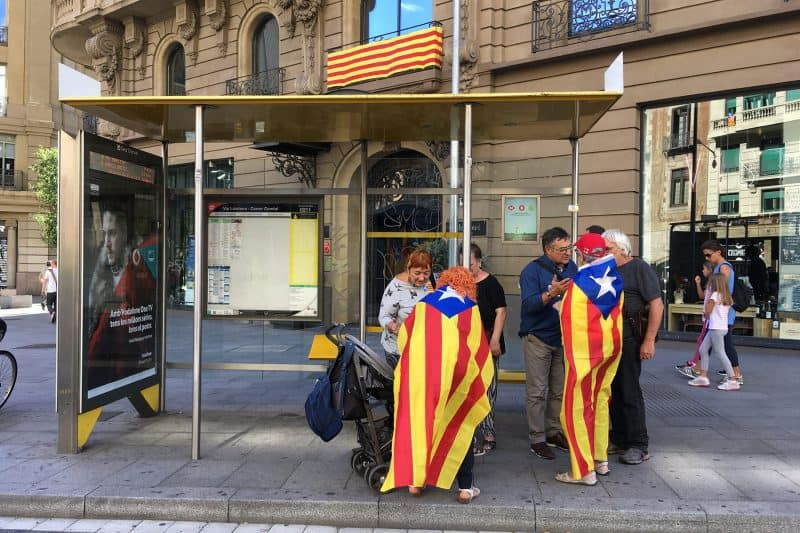catalan nationalist flag