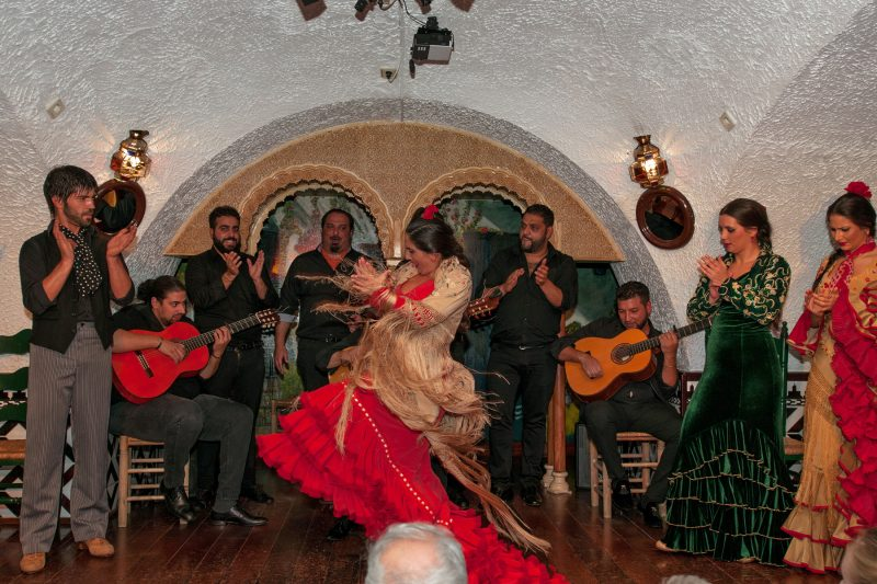 Flamenco concert in Barcelona