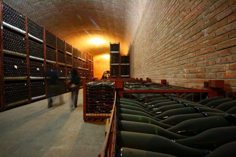 Freixenet wine cellar