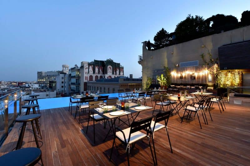 rooftop terrace bar grand hotel central