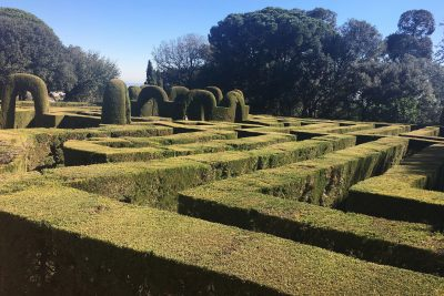Horta labyrinth in Barcelona