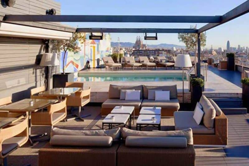 rooftop terrace bar hotel majestic
