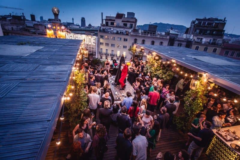 rooftop terrace bar hotel pulitzer