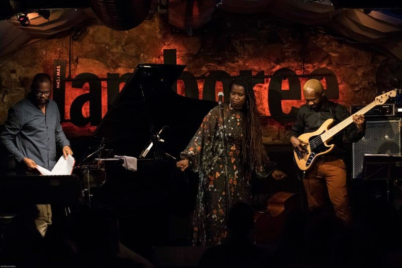 concert at jamboree jazz club in barcelona