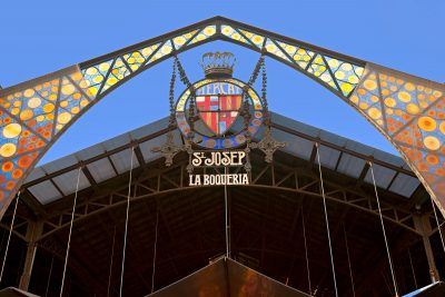 Entrance to la boqueria market