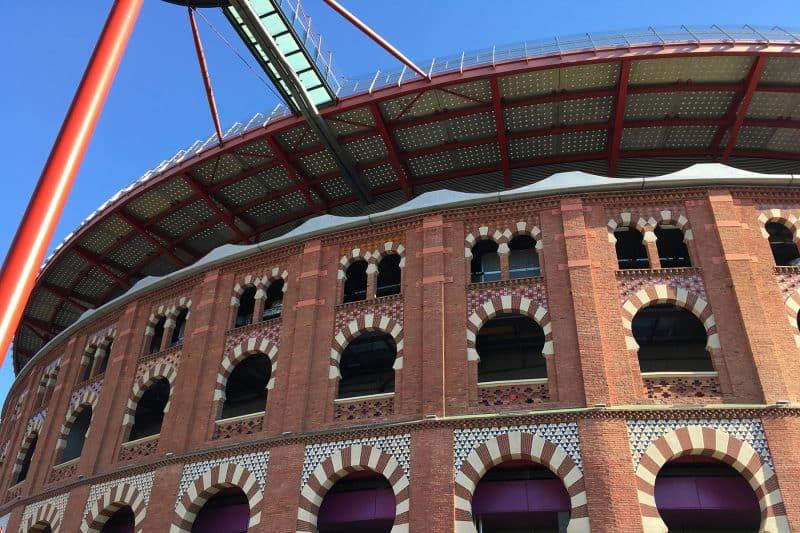 las arenas facade