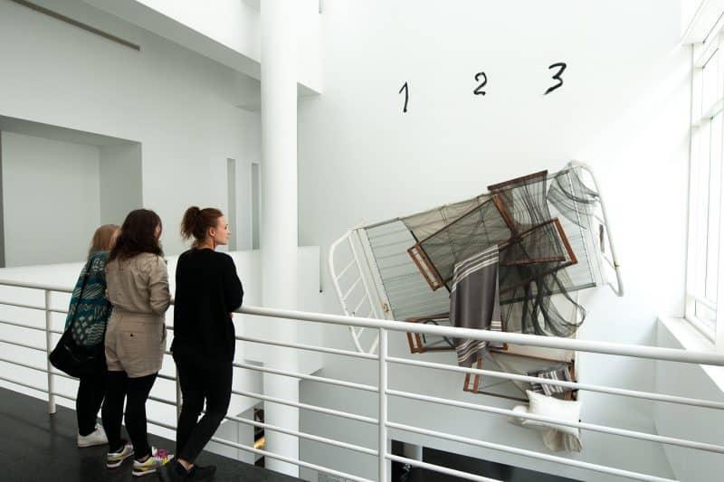 MACBA art installation