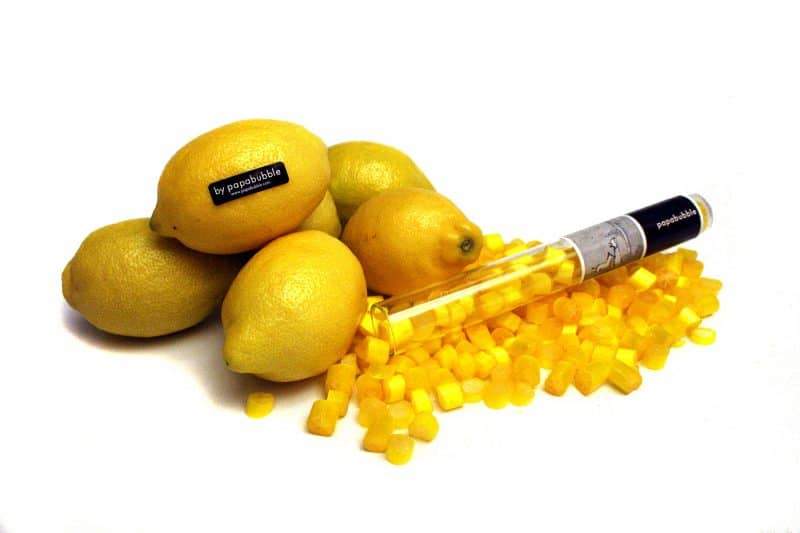 papabubble lemon candies