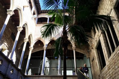 picasso museum courtyard