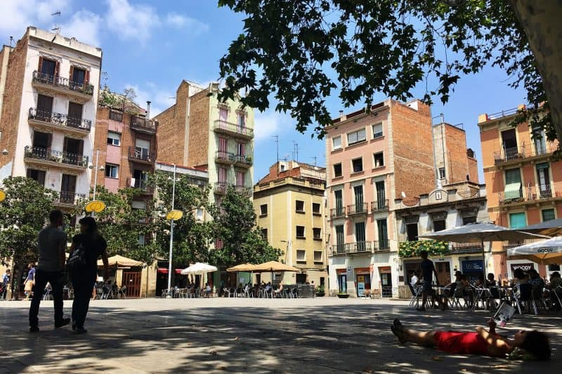 Plaza del Sol in Gracia