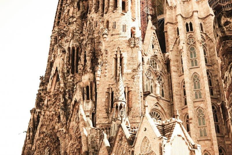 Sagrada familia decorations