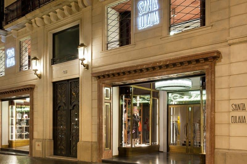 santa eulalia shop in barcelona