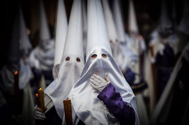 Easter parade in Spain