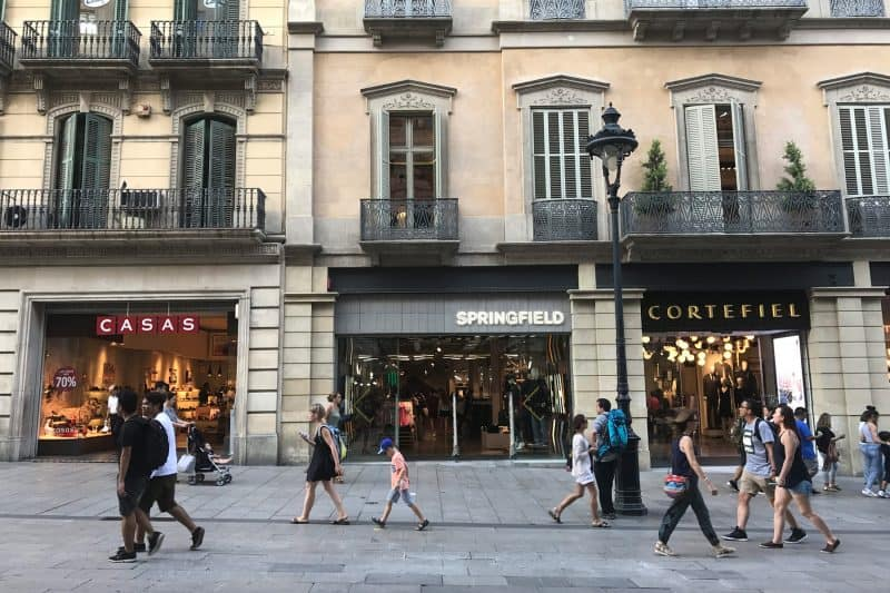shops in barcelona