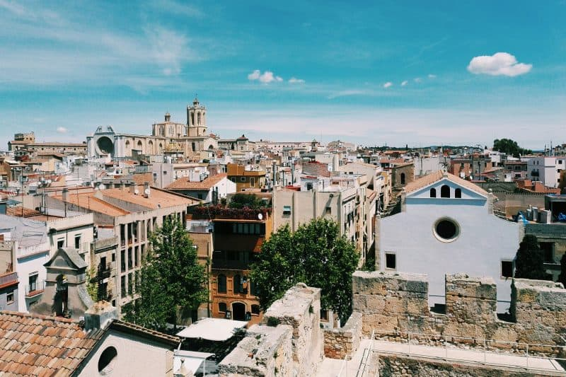 view of Tarragona rooftops