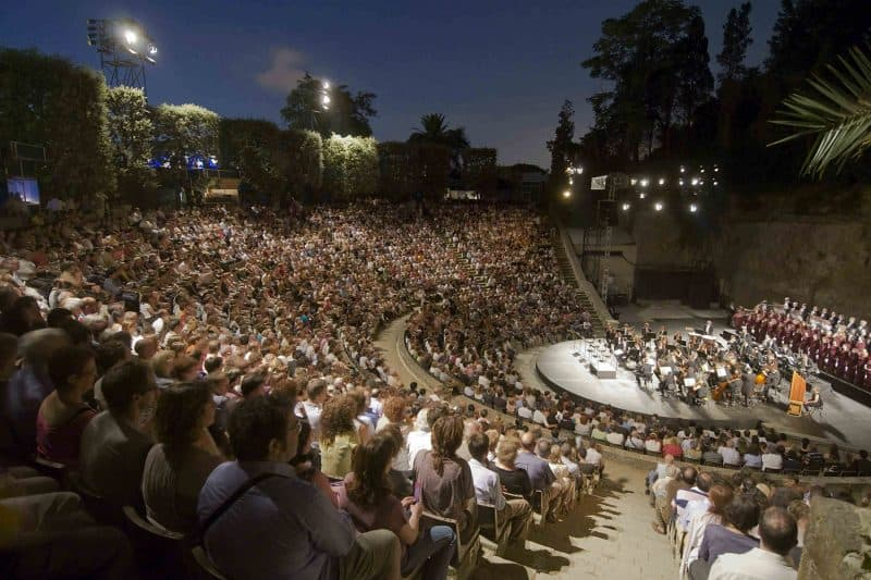 concert at barcelona greek theater