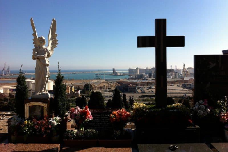 Montjuic cemetery view