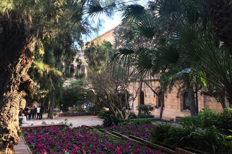 university of barcelona garden